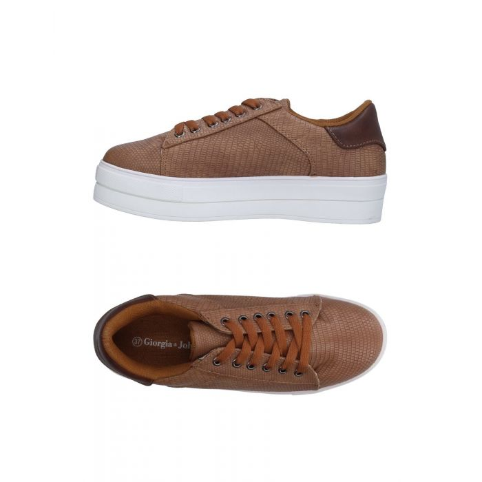 Image for Giorgia  & Johns Woman Camel Low-tops & sneakers