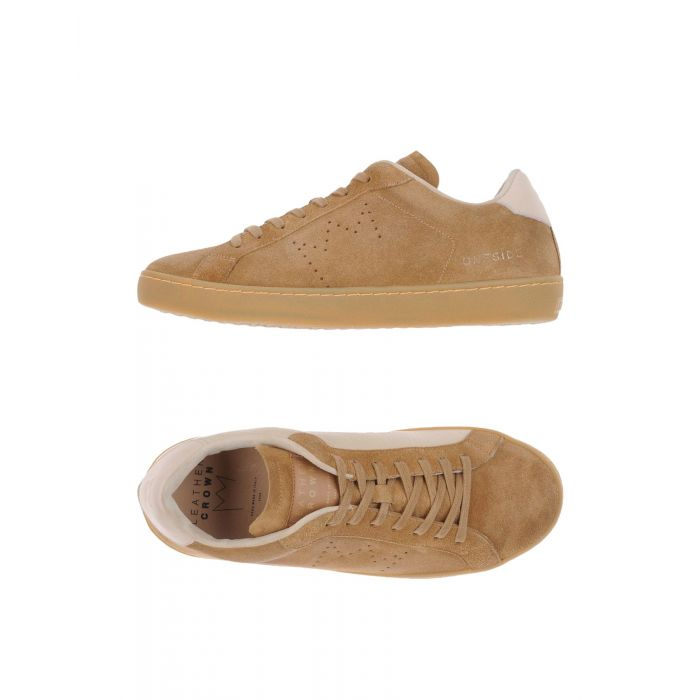 Image for Leather Crown Man Camel Low-tops & sneakers