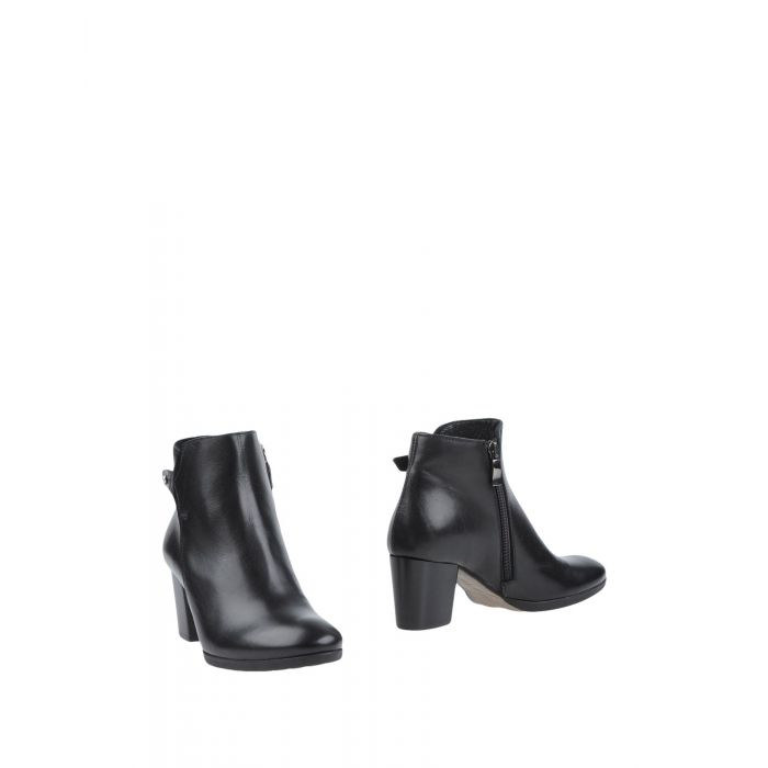 Image for Black leather lined ankle boots