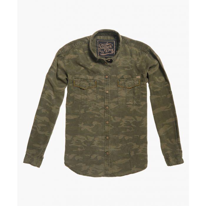 Image for Roxanne multi-coloured lyocell military shirt