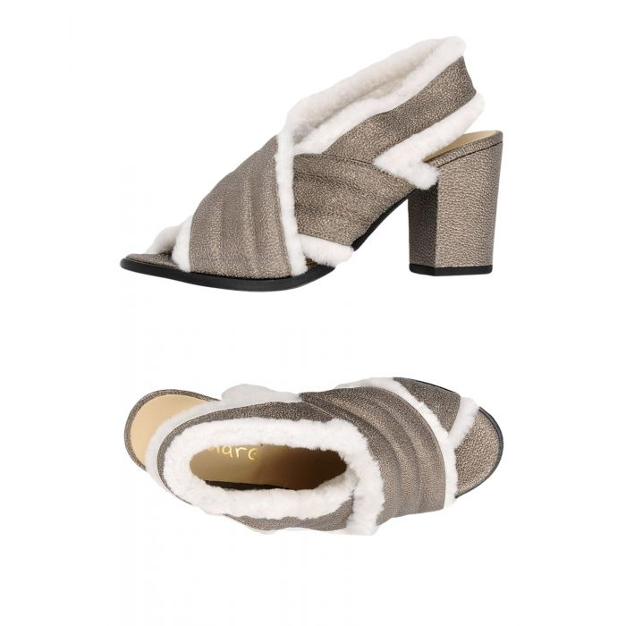 Image for Lemaré Black, Grey Calf Sandali