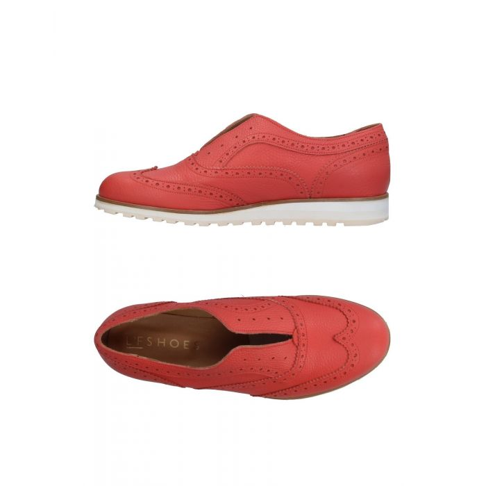 Image for L'F Shoes Salmon pink Leather Mocassini