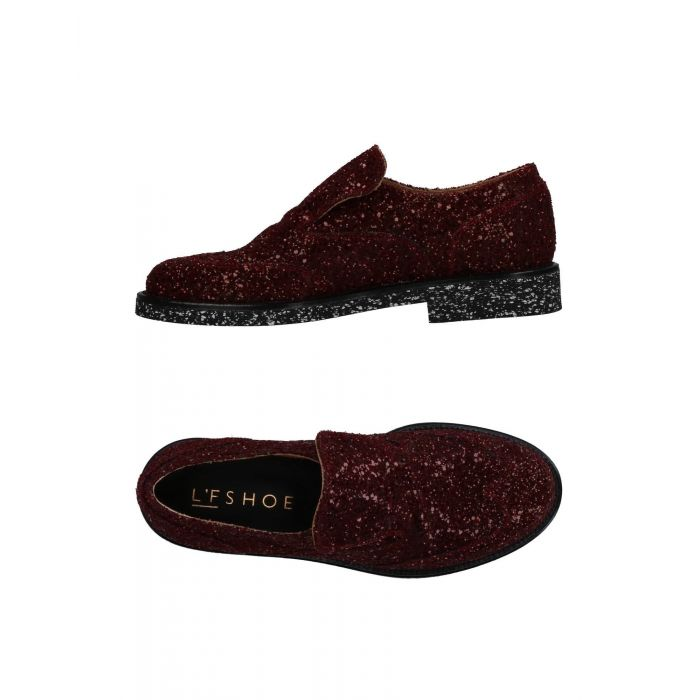 Image for L'F Shoes Maroon Textile fibres Mocassini