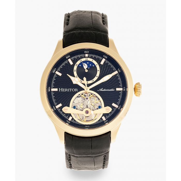 Image for Heritor Automatic Gregory black watch