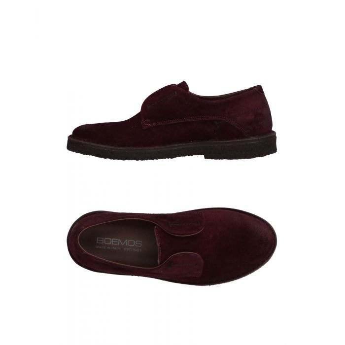 Image for Boemos Woman Maroon Loafers