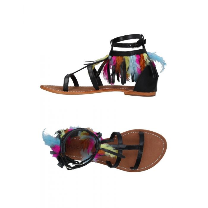 Image for Cb Fusion Woman Black Sandals