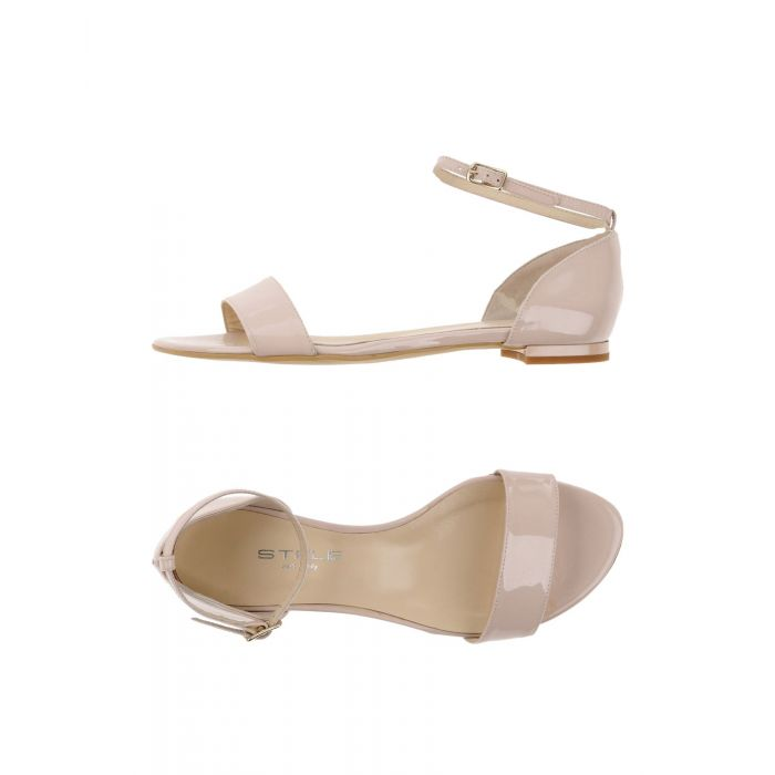 Image for Light pink leather sandals