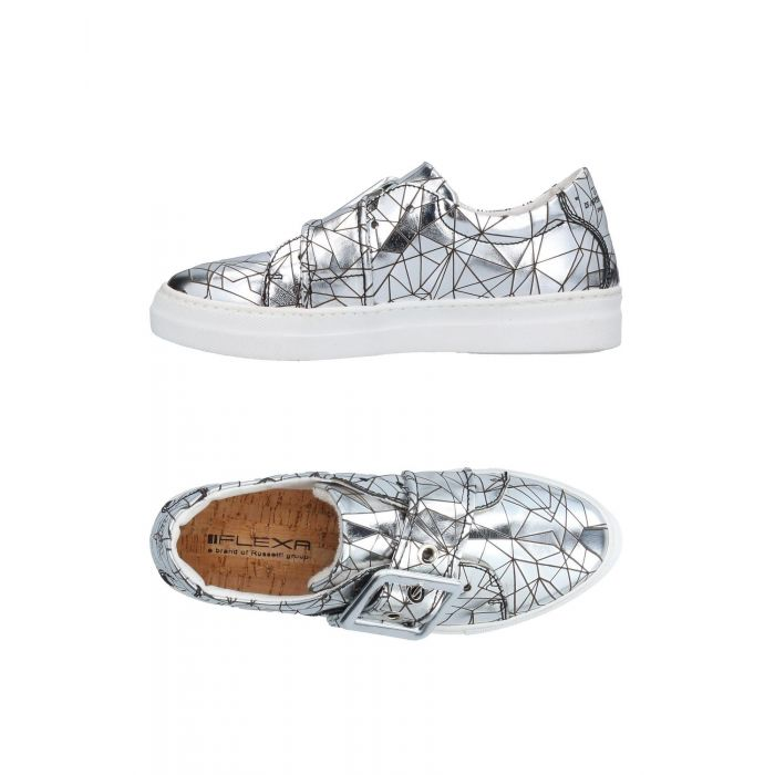 Image for Flexa By Fratelli Rossetti Woman Silver Low-tops & sneakers