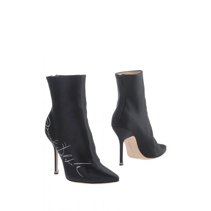 Image for Black natural fibre ankle boots