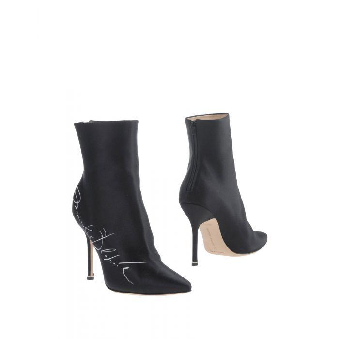 Image for Black natural fibre ankle boots