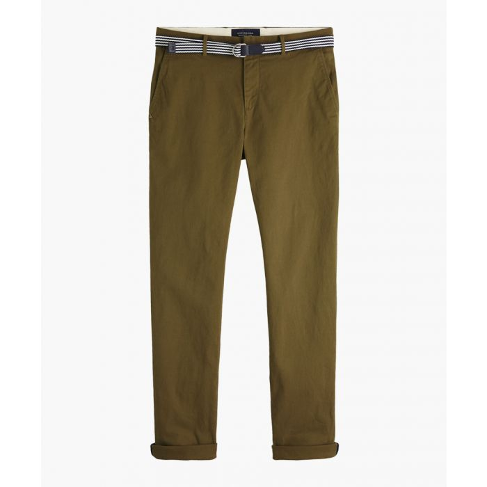 Image for Stuart military green chinos