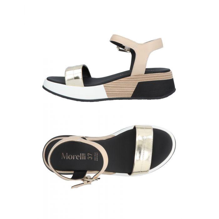 Image for Andrea Morelli Woman Platinum Sandals