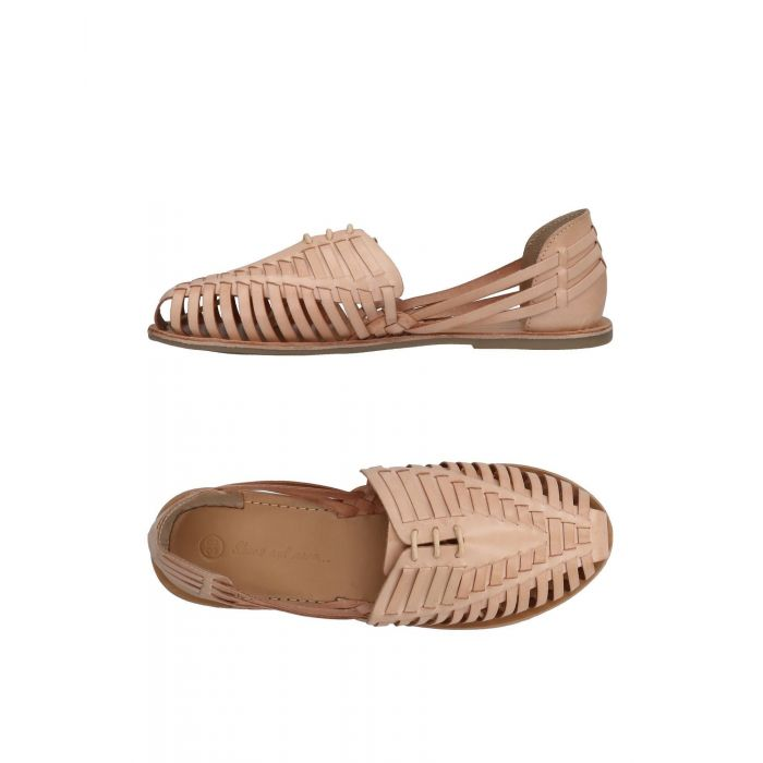 Image for Biege leather sandals