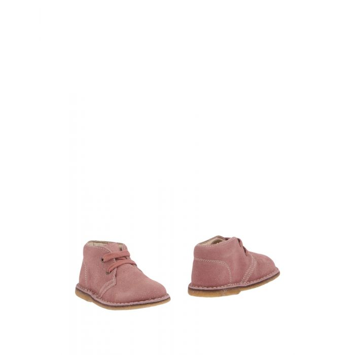 Image for Pink leather ankle boots