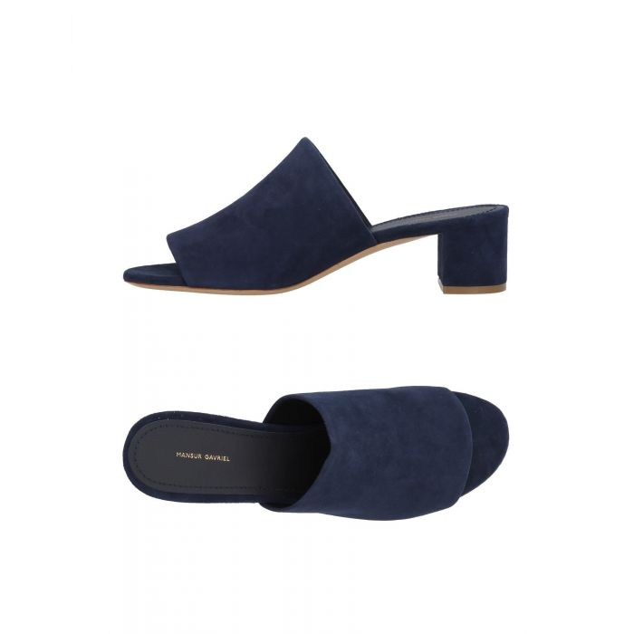 Image for Dark blue leather sandals