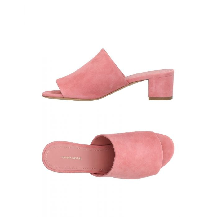 Image for Pink leather sandals