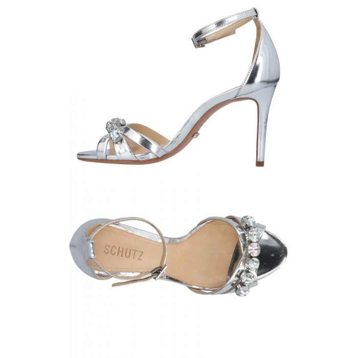 Image for Schutz Woman Silver Sandals