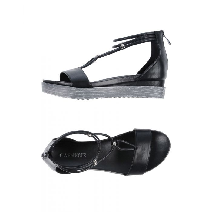Image for Cafènoir Woman Black Sandals
