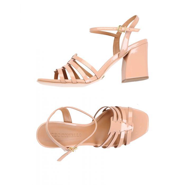 Image for Cecconello Pale pink Textile fibres Sandali