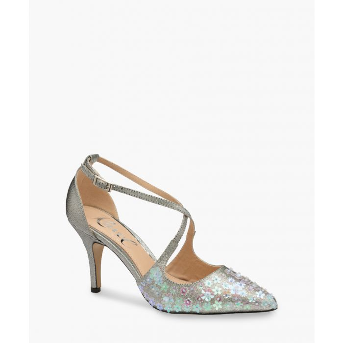 Image for Floral sparkle heels