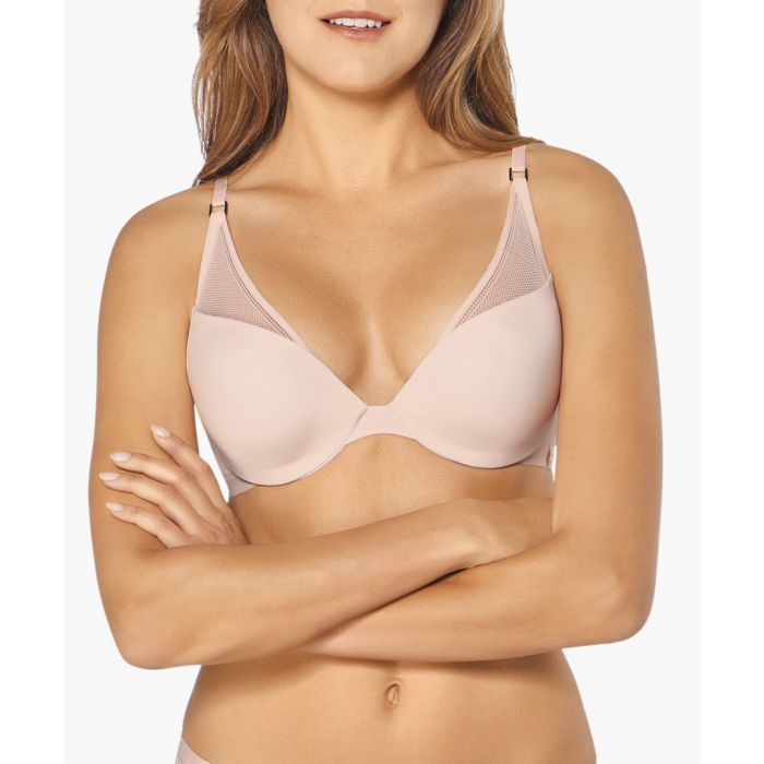 Image for Symmetry nude plunge bra