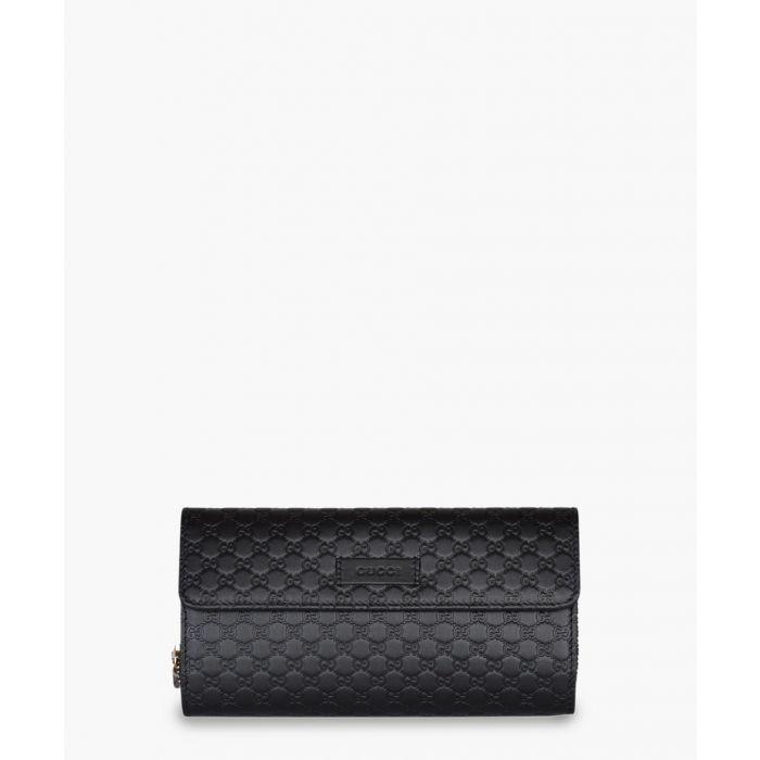 Image for Guccissima black leather purse