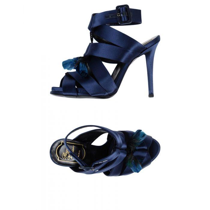 Image for Roger Vivier Blue Textile fibres Sandali