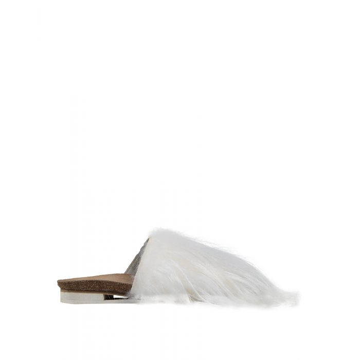 Image for Peter Non White Leather Sandali