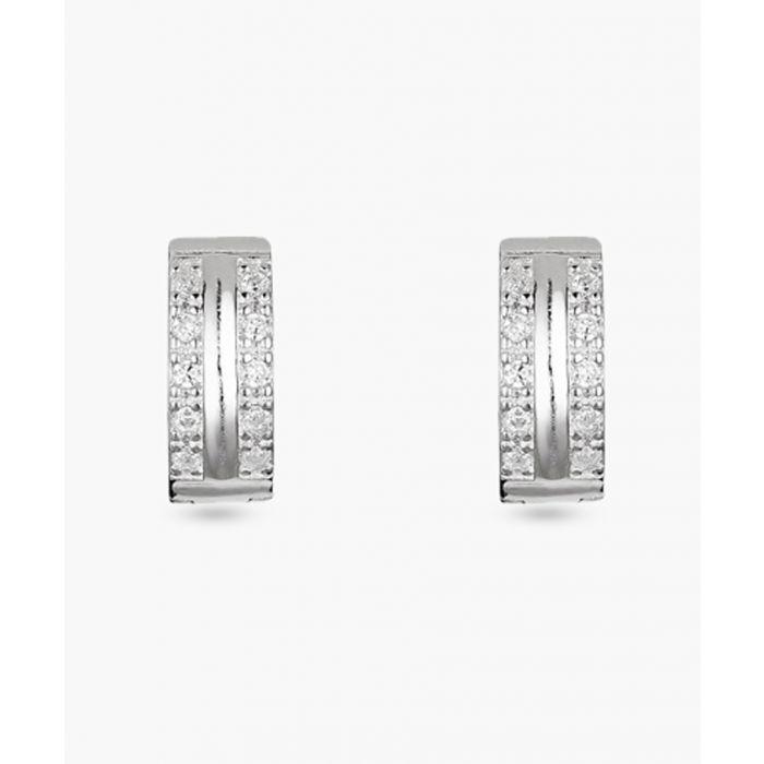 Image for Créolitass silver earrings