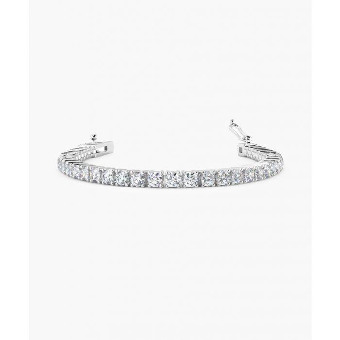 Image for 9k white gold and 3.00ct diamond bracelet