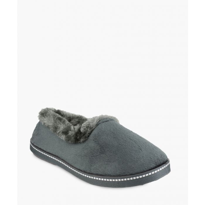 Image for Womens grey slippers