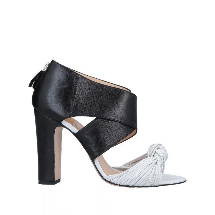 Image for Bionda Castana White Leather Sandali