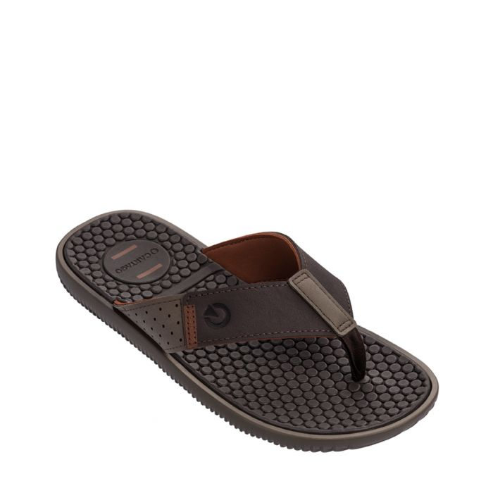 Image for Barcelona Stride brown flip-flops