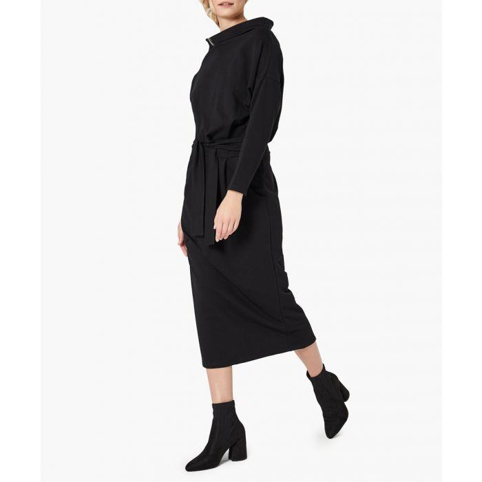 Image for Black loose cut dress
