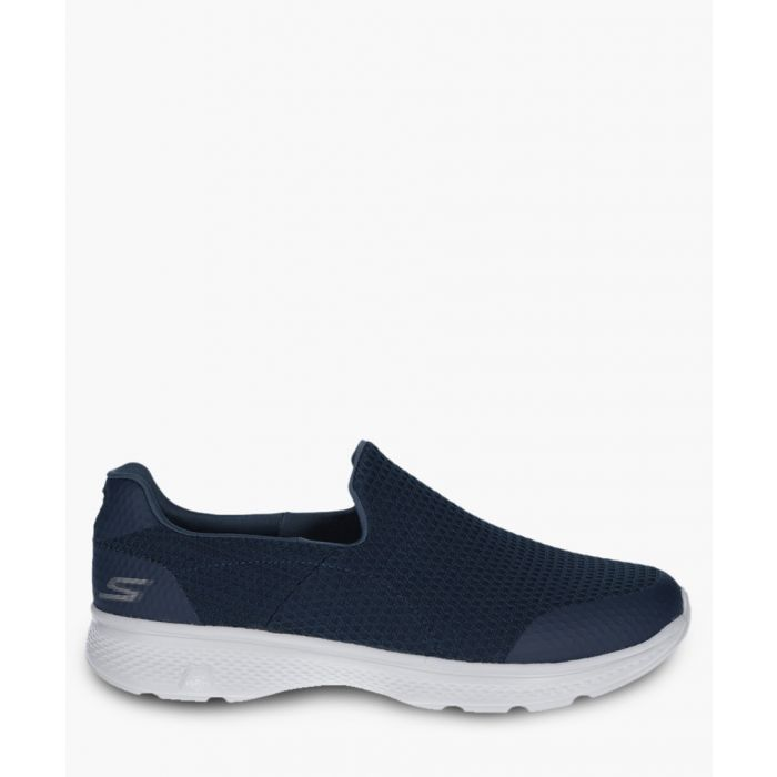 Image for Go Walk 4 navy and grey trainers