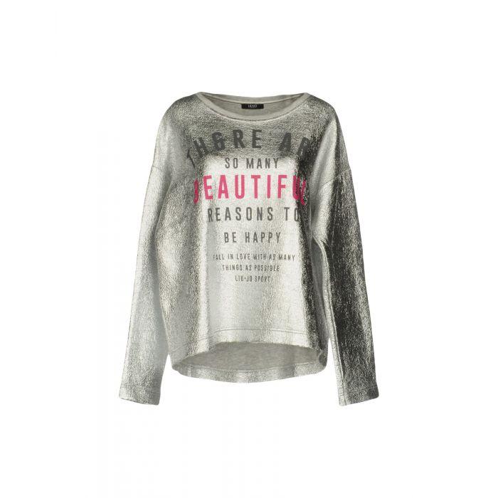 Image for Liu •Jo Sport Woman Silver Sweatshirts