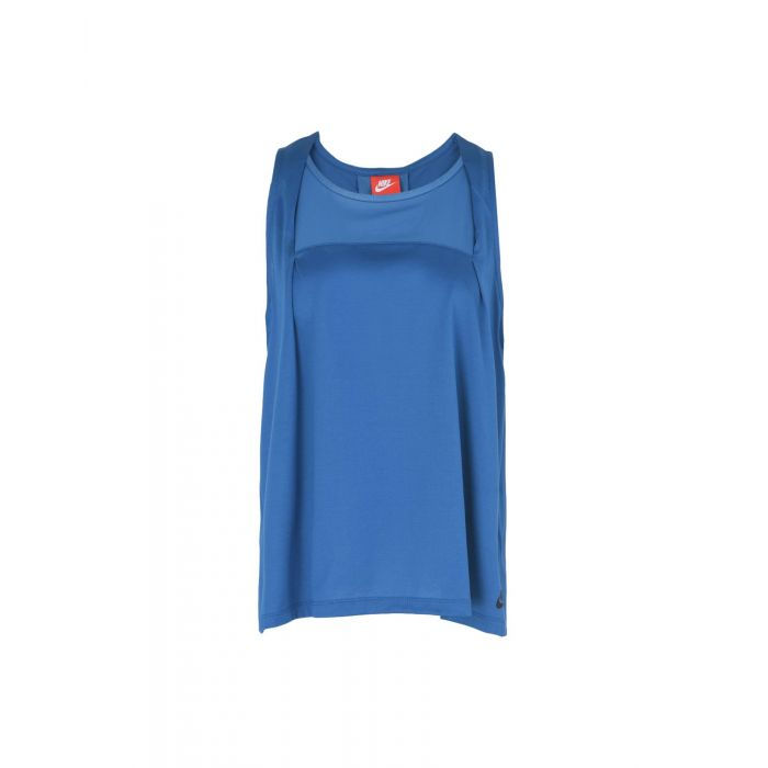 Image for Nike Slate blue Cotton Top