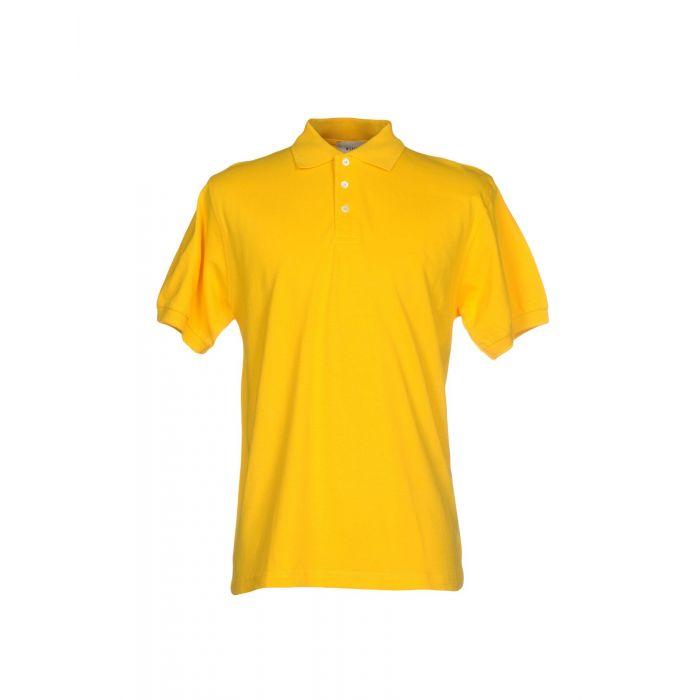 Image for Milano 140 Man Yellow Polo shirts