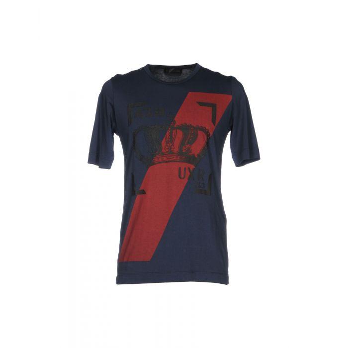 Image for Diesel Black Gold Man Dark blue T-shirts
