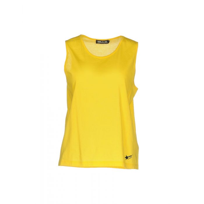 Image for Haus Golden Goose Yellow Cotton T-shirts
