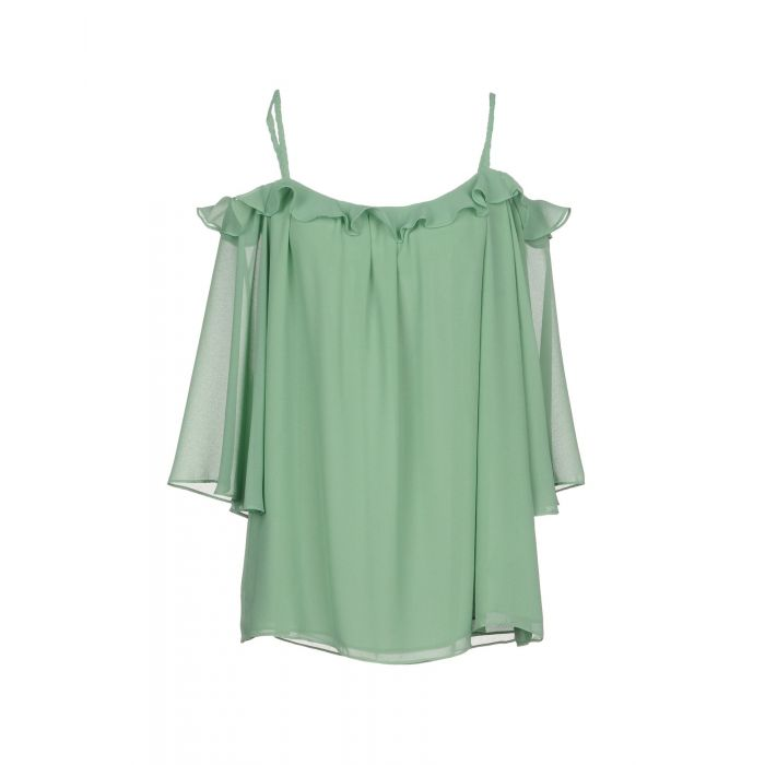 Image for Traffic People Woman Light green Blouses