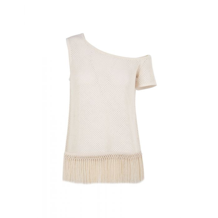 Image for Edun Ivory Cotton Top