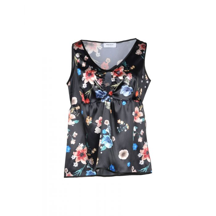 Image for Maiocci Black Polyester Top