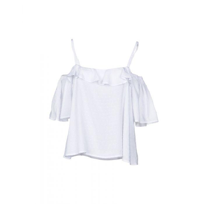 Image for Louche White Viscose Bluse