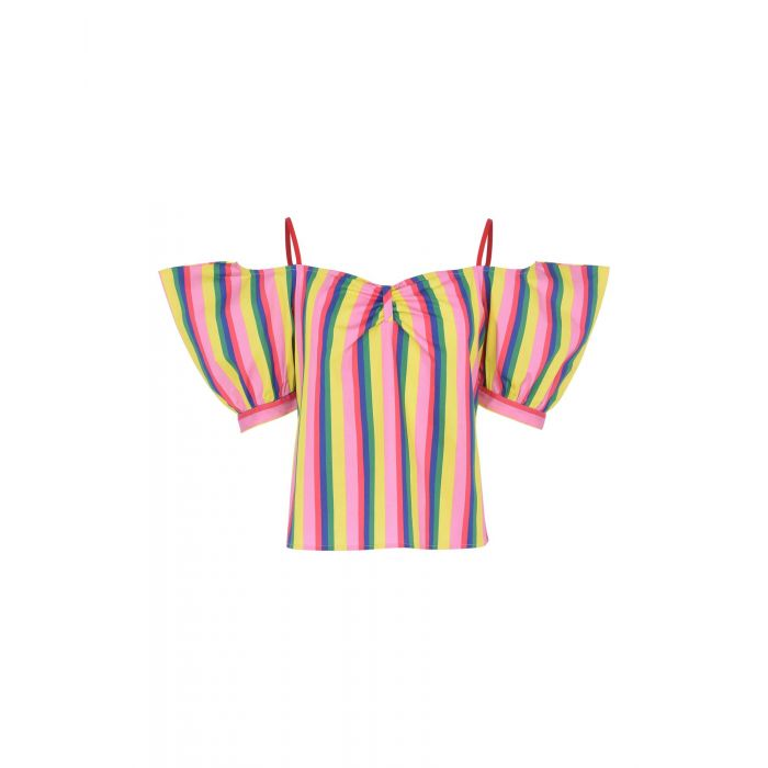 Image for Staud Pink Cotton Bluse