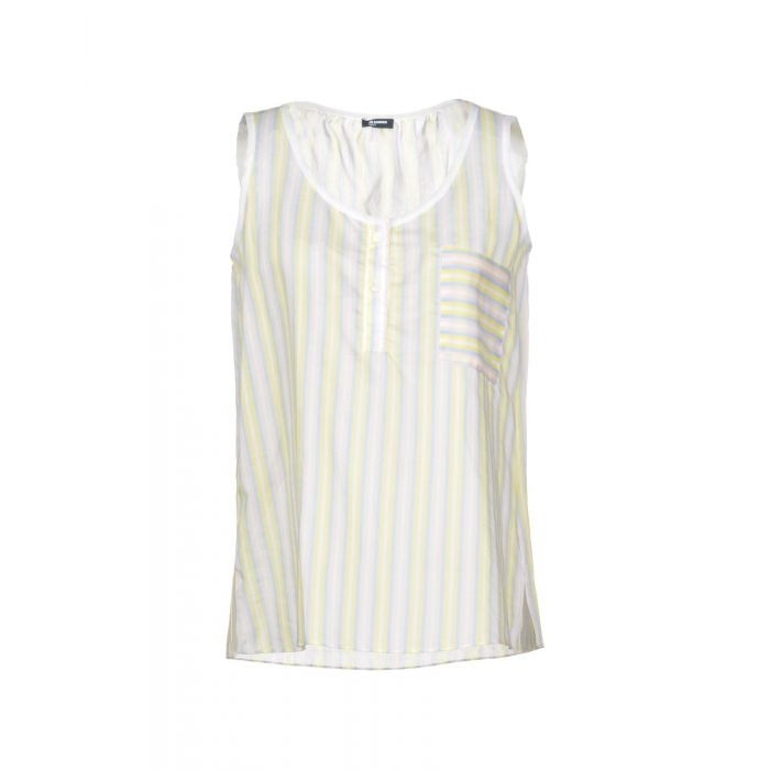 Image for Jil Sander Navy Yellow Cotton Top