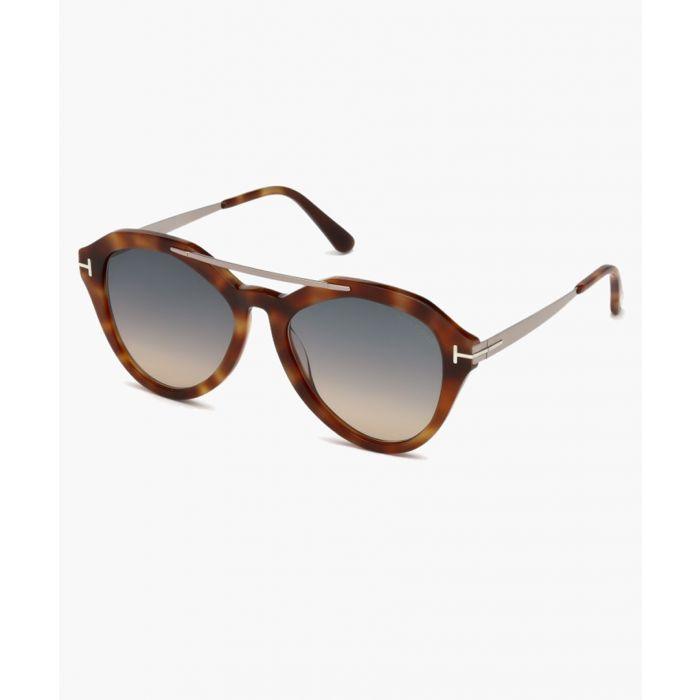 Image for Havana and grey sunglasses
