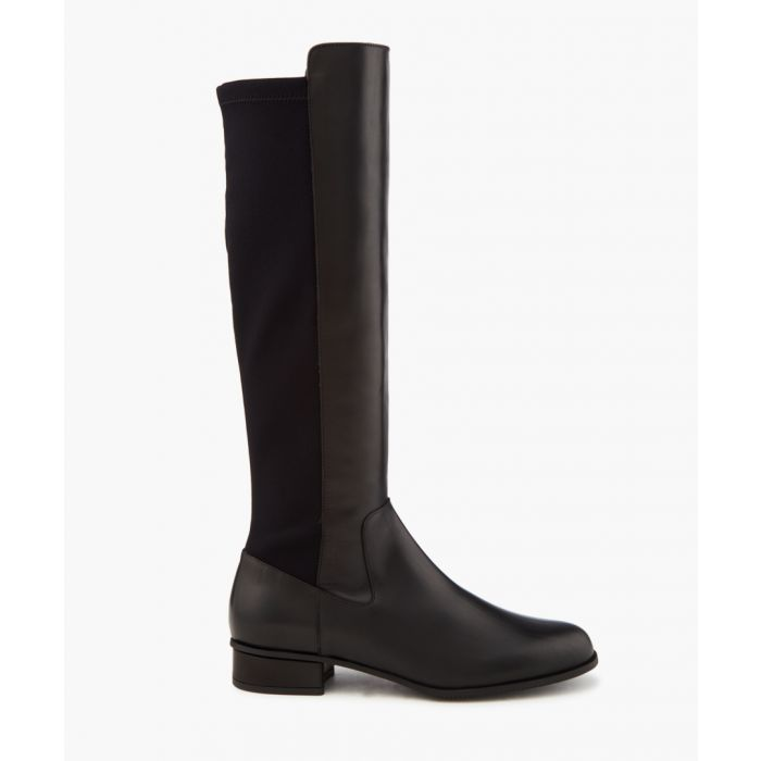 Image for Olivia black knee-high boots