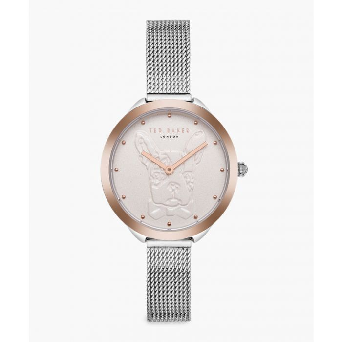 Image for Elana silver and rose gold-tone watch