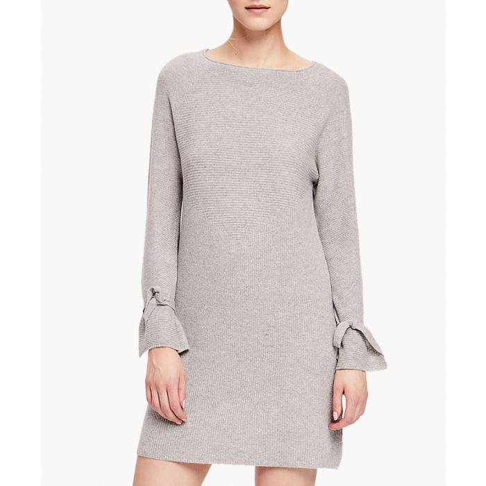 Image for Grey Pure Cashmere Jumper Dress